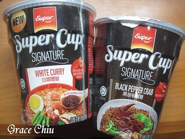 Super Cup 馬來西亞泡麵 白咖哩麵 黑胡椒蟹麵 東南亞泡麵