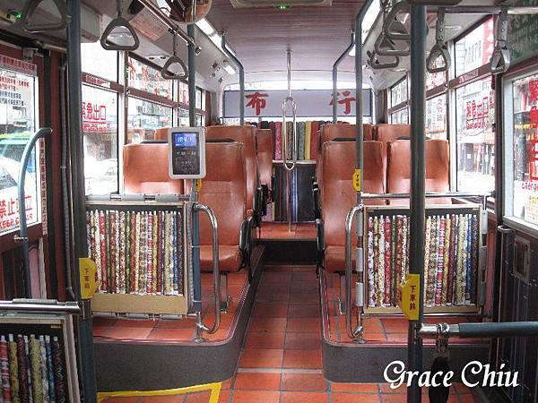 綠17舊城公車 觀光主題公車 大稻埕 華中河濱公園 布行 永樂市場 復古公車