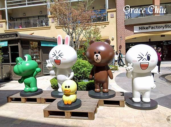 Line Friends 韓國坡州outlet  파주 프리미엄 아울렛
