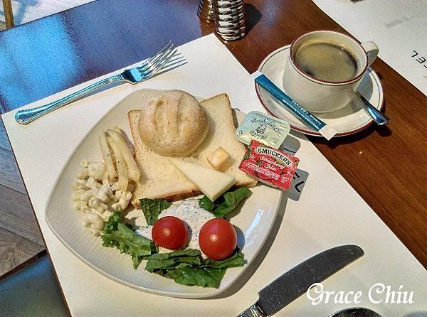 Novotel Ambassador Doksan 早餐