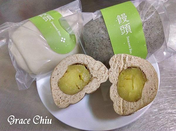樂田饅頭 胚芽烤蕃薯饅頭 樂田麵包