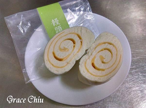 樂田饅頭 牛奶起士牛層 樂田麵包