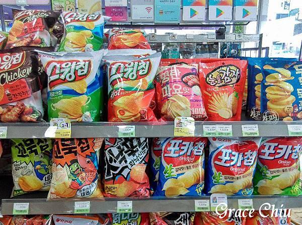 韓國超商 韓國便利商店 烏龜餅乾 오리온 꼬북칩 콘스프맛