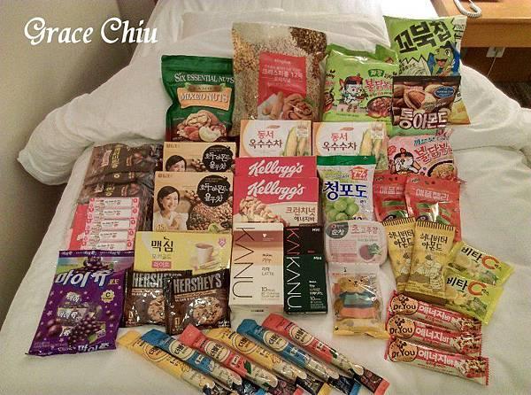 韓國超商賣場商品
