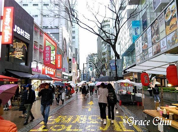明洞 명동 韓國逛街 韓國購物
