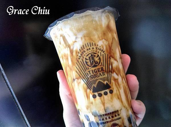 TIGERSUGAR老虎堂(西門西寧南店) 波霸厚鮮奶(含奶霜)