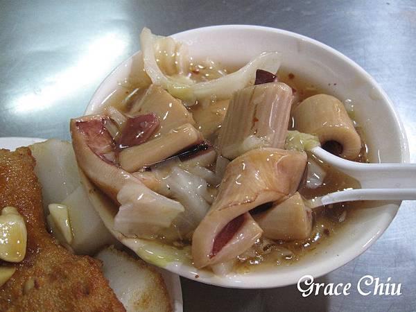 生炒魷魚 黃石市場 板橋小吃