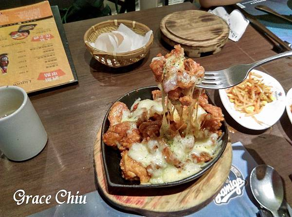 涓豆腐 台北車站韓式料理 熔岩起司炸雞 北車2樓