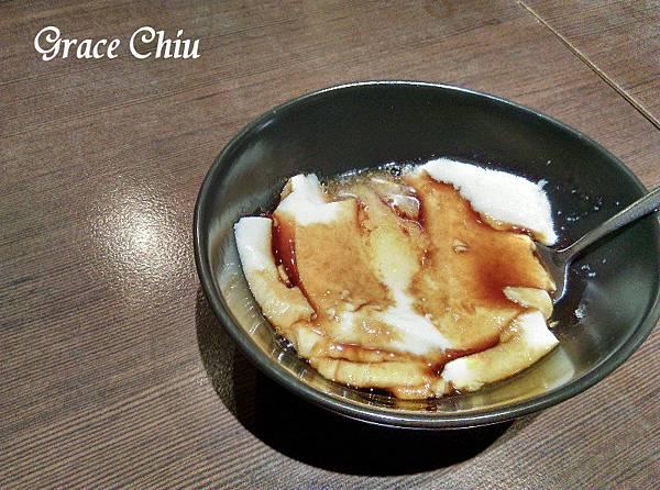 黑糖香柚豆花 涓豆腐 台北車站韓式料理 北車2樓