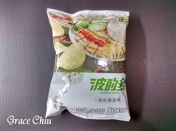 波的多洋芋片 華元食品 海南雞風味