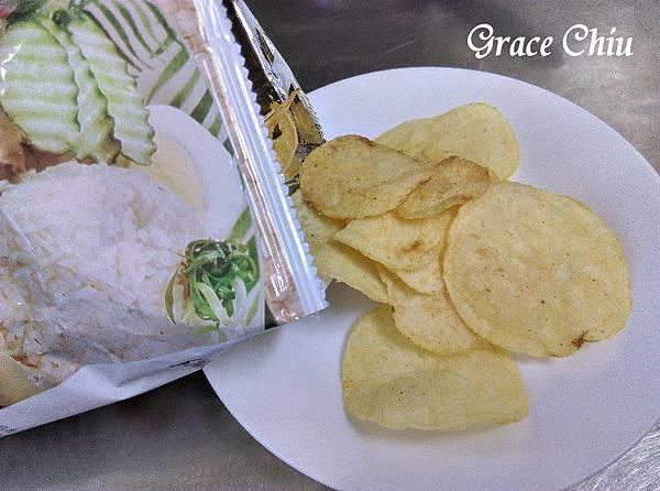 海南雞風味 波的多洋芋片 華元食品