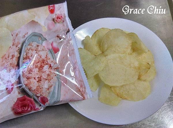 波的多洋芋片 華元食品 喜馬拉雅玫瑰鹽味