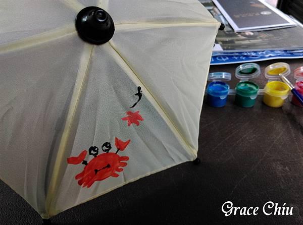 我的彩繪小傘(擺飾用迷你傘) 富雨洋傘
