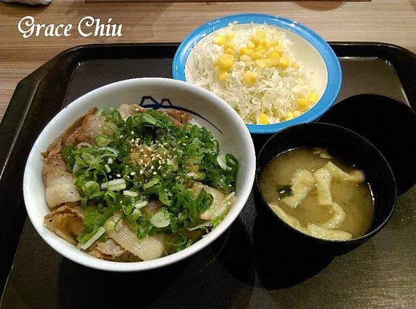 松屋 日本連鎖丼飯 牛丼 燒肉飯 燒肉定食