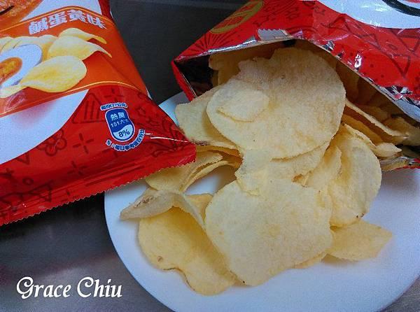 樂事鹹蛋黃風味洋芋片 Lay%5Cs洋芋片