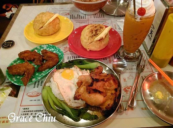美天餐室 Day Day Happy Food 泰式茶餐廳 捷運雙連站