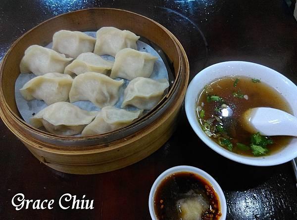 鮮肉蒸餃 紫琳蒸餃館 頂好名店城 東區美食 台北中式小吃