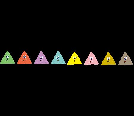 三角形分隔線