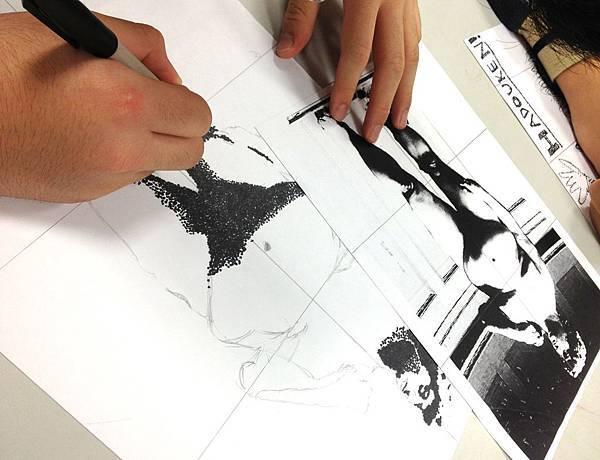 alan pointillism