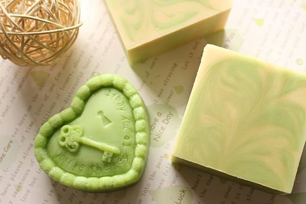 2014.03.21綠茶香氛沐浴皂