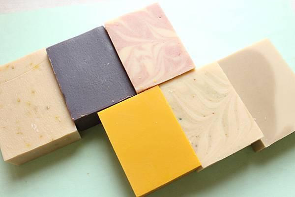 陳瓊玉代製六款母乳皂