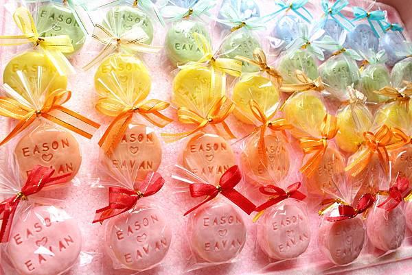 芒果代製婚禮皂
