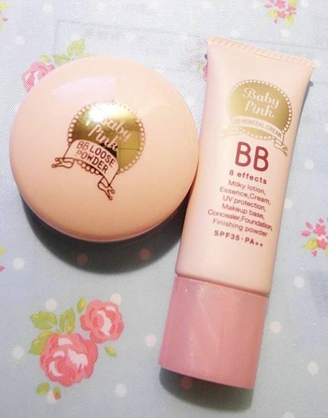 BISON Baby Pink輕透礦物BB霜