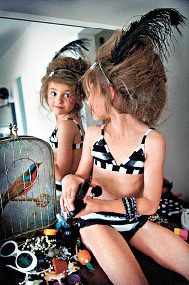 小女模美麗嗎?