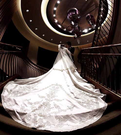 漂亮的婚紗是很多女生的憧憬