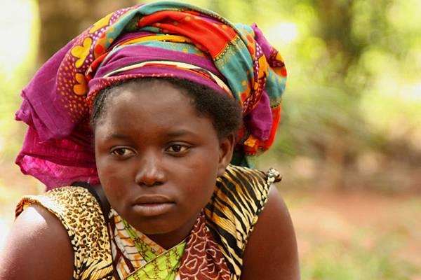 非洲婦女受暴中