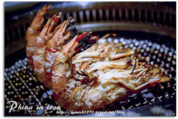 台中牧島燒肉烤海蝦技巧