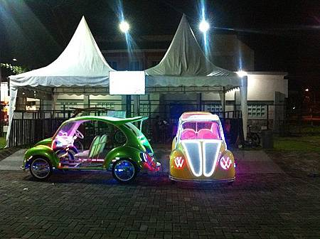 【樂】印尼泗水★G WALK★小吃攤很多的一條街