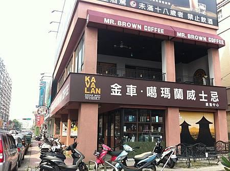 【食】台中★金車伯朗咖啡Mr. Brown Cafe'★有wifi可上網,有插座可充電,一個人也很自在
