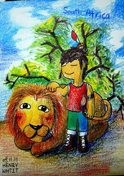 09.11.11拔獅毛的勇氣