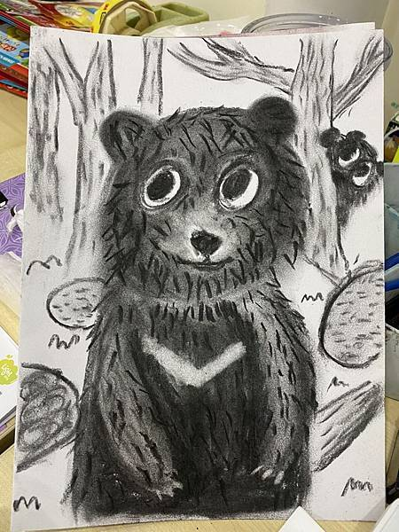炭筆黑熊20.03.10