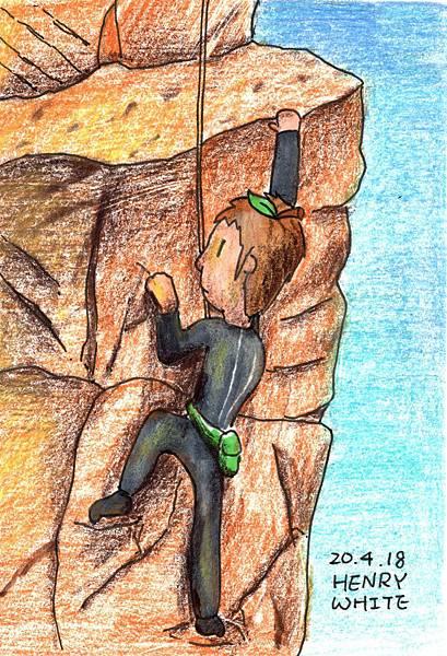20200420攀岩者