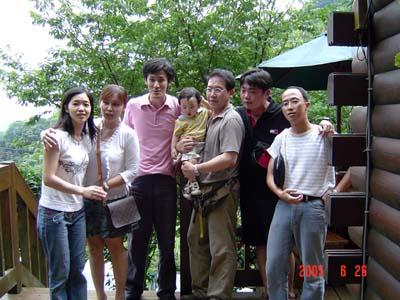 爸爸與同學們