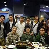 12年3月底-口試完一些同學們聚餐