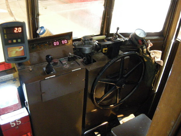 電車駕駛座