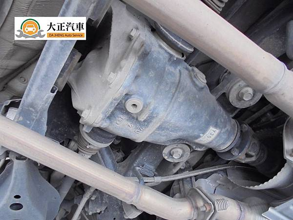 Lexus IS250 MK3 rear differential oil change 差速器油更換