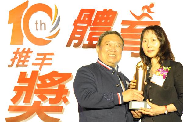 為台灣運動員喝采!賀寶芙是最有力的後盾!