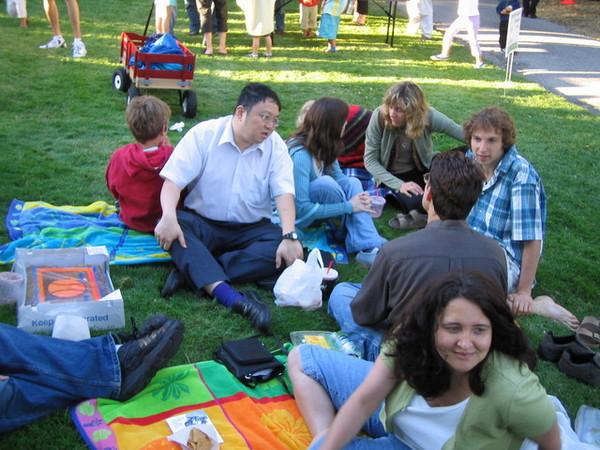 草地上的野餐晚飯(July 11)