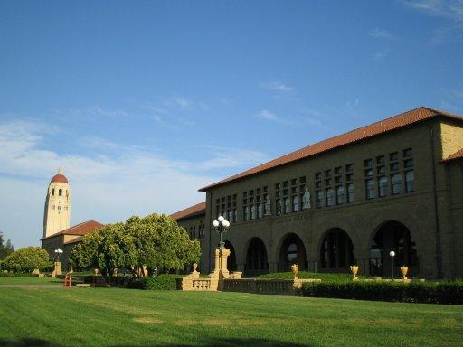 史丹佛大學-胡佛塔與方院