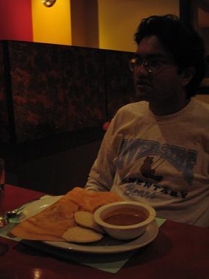 印度餐廳-Raj教授及其晚餐(July 20)
