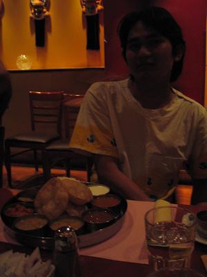 印度餐廳-Jitti及其晚餐(July 20)
