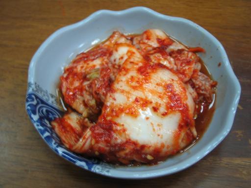 變色龍韓式料理:泡菜