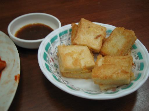 變色龍韓式料理:山藥豆腐