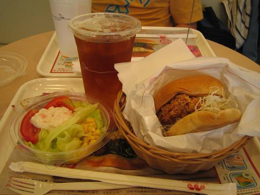 南洋雞腿堡套餐