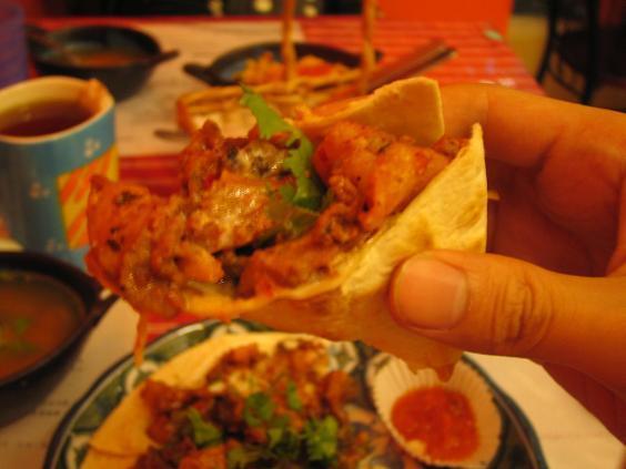 墨西哥廚房:托斯塔德的吃法