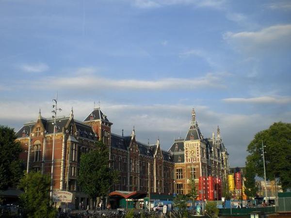 阿姆斯特丹中央車站(Amsterdam CS)